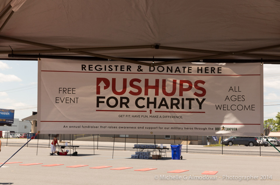 Pushups for Charity – Frederick, MD